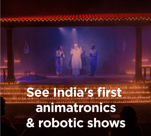 indias first animatronics & robotics shows